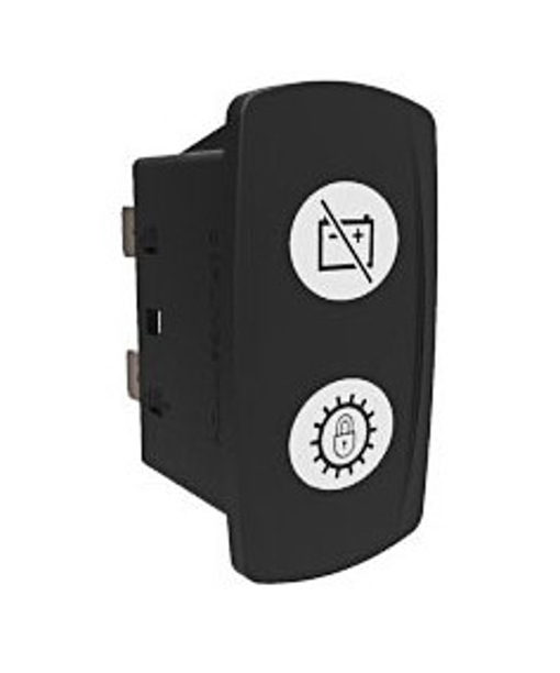 Interruptor basculante sellado